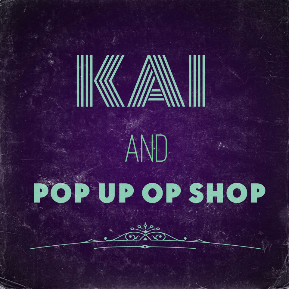 Kai and Pop Up Op Shop